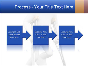 3d white person PowerPoint Template - Slide 88