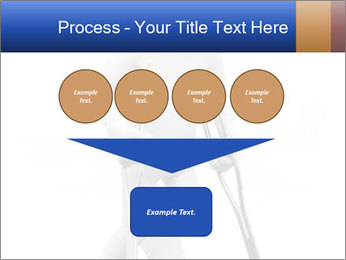 3d white person PowerPoint Template - Slide 93