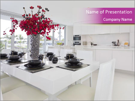 Kitchen powerpoint template backgrounds id 0000092582 kitchen powerpoint templates toneelgroepblik Choice Image