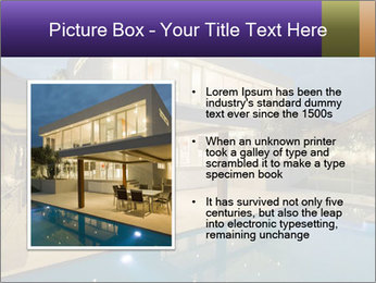 Swimming pool PowerPoint Template - Slide 13