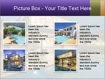 Swimming pool PowerPoint Template - Slide 14