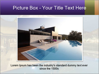 Swimming pool PowerPoint Template - Slide 15