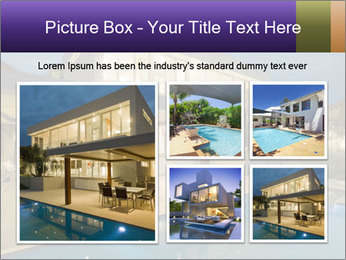 Swimming pool PowerPoint Template - Slide 19