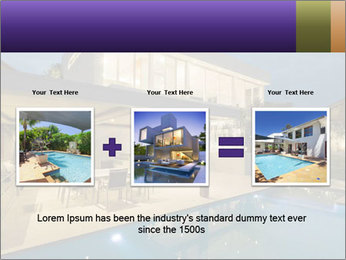 Swimming pool PowerPoint Template - Slide 22