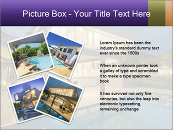 Swimming pool PowerPoint Template - Slide 23