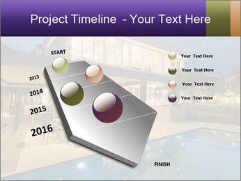 Swimming pool PowerPoint Template - Slide 26