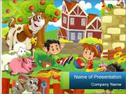 The farm PowerPoint Templates