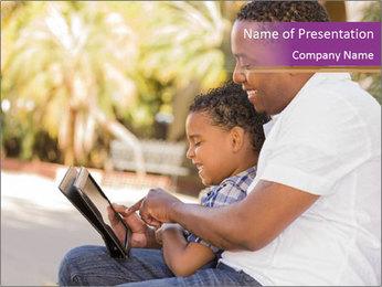 Happy Father Plantillas de Presentaciones PowerPoint