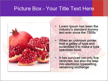 Ripe pomegranate PowerPoint Template - Slide 13