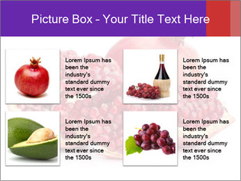 Ripe pomegranate PowerPoint Template - Slide 14