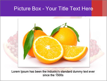 Ripe pomegranate PowerPoint Template - Slide 15