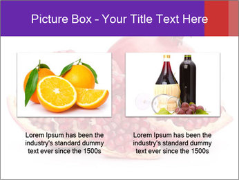 Ripe pomegranate PowerPoint Template - Slide 18