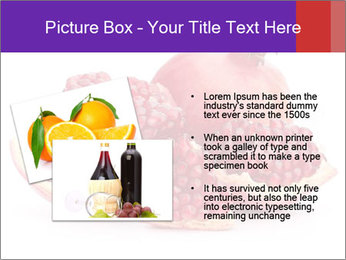 Ripe pomegranate PowerPoint Template - Slide 20