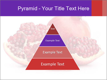 Ripe pomegranate PowerPoint Template - Slide 30