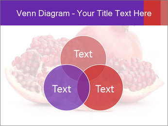 Ripe pomegranate PowerPoint Template - Slide 33