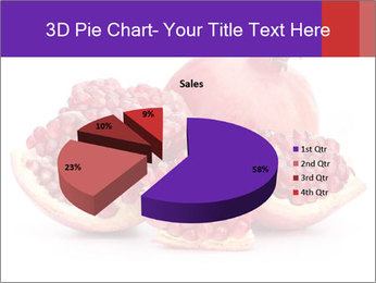 Ripe pomegranate PowerPoint Template - Slide 35