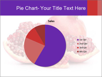 Ripe pomegranate PowerPoint Template - Slide 36