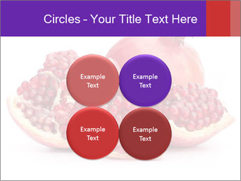 Ripe pomegranate PowerPoint Template - Slide 38