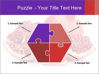 Ripe pomegranate PowerPoint Template - Slide 40