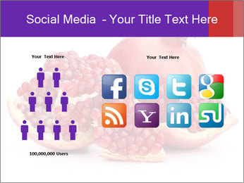 Ripe pomegranate PowerPoint Template - Slide 5