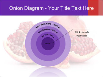 Ripe pomegranate PowerPoint Template - Slide 61