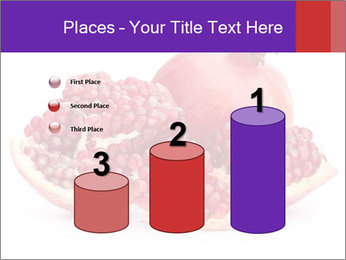 Ripe pomegranate PowerPoint Template - Slide 65