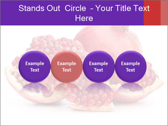Ripe pomegranate PowerPoint Template - Slide 76