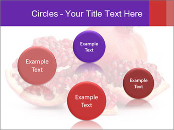 Ripe pomegranate PowerPoint Template - Slide 77