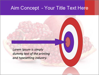 Ripe pomegranate PowerPoint Template - Slide 83