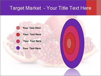 Ripe pomegranate PowerPoint Template - Slide 84
