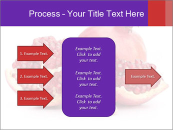 Ripe pomegranate PowerPoint Template - Slide 85