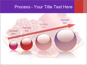 Ripe pomegranate PowerPoint Template - Slide 87