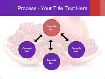 Ripe pomegranate PowerPoint Template - Slide 91