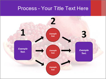 Ripe pomegranate PowerPoint Template - Slide 92