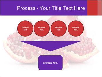 Ripe pomegranate PowerPoint Template - Slide 93