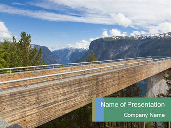 Norway PowerPoint Template - Slide 1
