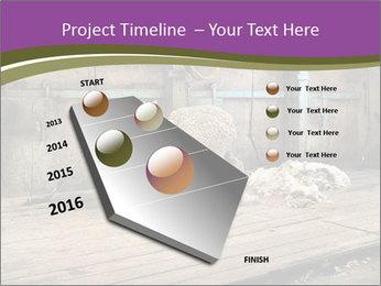 Half shorn sheep PowerPoint Template - Slide 26