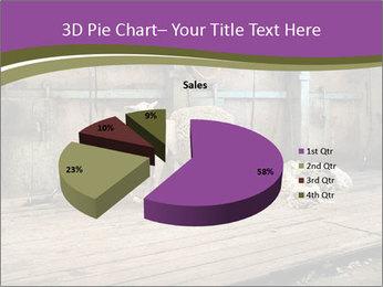 Half shorn sheep PowerPoint Template - Slide 35