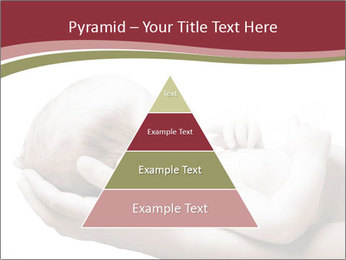 Little baby held PowerPoint Template - Slide 30