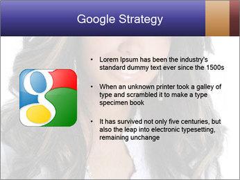 Beautiful American woman PowerPoint Template - Slide 10