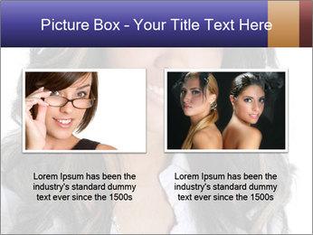 Beautiful American woman PowerPoint Template - Slide 18