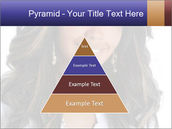 Beautiful American woman PowerPoint Template - Slide 30
