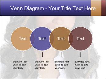 Beautiful American woman PowerPoint Template - Slide 32
