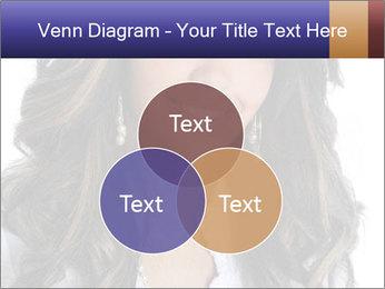 Beautiful American woman PowerPoint Template - Slide 33