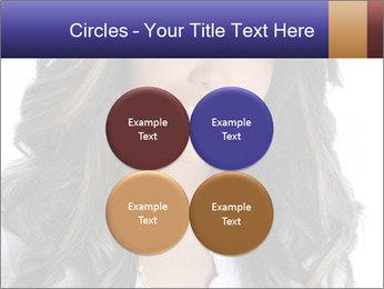 Beautiful American woman PowerPoint Template - Slide 38
