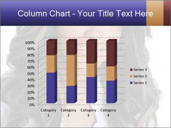 Beautiful American woman PowerPoint Template - Slide 50