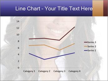 Beautiful American woman PowerPoint Template - Slide 54