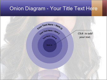 Beautiful American woman PowerPoint Template - Slide 61