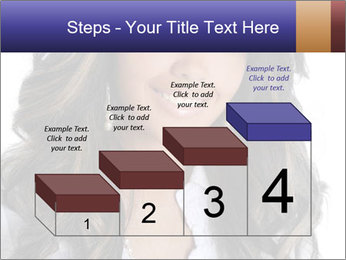 Beautiful American woman PowerPoint Template - Slide 64