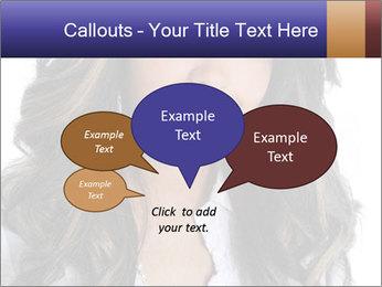 Beautiful American woman PowerPoint Template - Slide 73